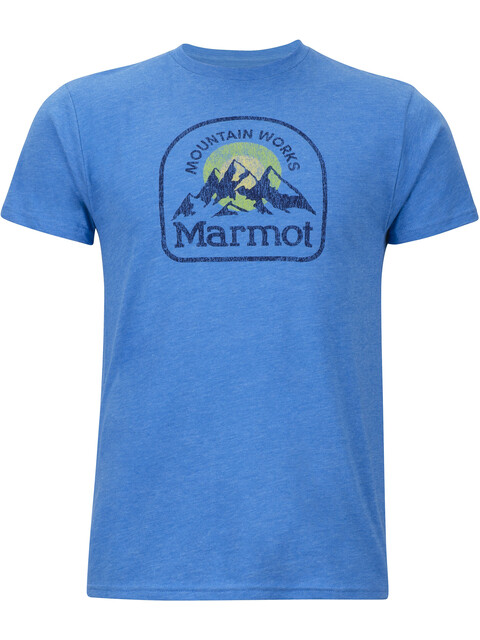 Marmot Altitude SS Tee Men Royal Heather